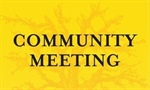 Community Meeting - Wednesday, July 6 at The Falls Event Center