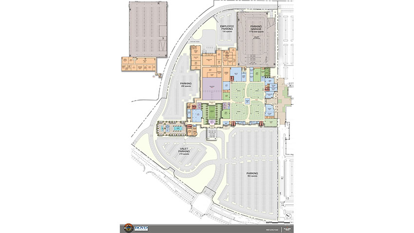elk grove casino map